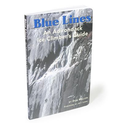 From ice climbing's humble beginnings to the latest Adirondack adventures, Blue Lines tells the stories and describes the routes with a history of Adirondack ice climbing, notes on grading and safety, and maps and photo illustrations to show you the way. - $25.95