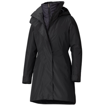 A city-tech combo of waterproof MemBrain protection and the snug warmth of Thermal R insulation, Marmot's stylish Downtown Component Jacket will keep you dry, or warm, or both dry and warm. - $299.98