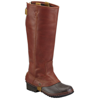 Integrating waterproof warmth into the timeless silhouette of an equestrian riding boot, Sorel's Slimpack Riding Boots are a winter-weather solution that will keep your feet dry and protected in cold conditions without sacrificing style. - $210.00