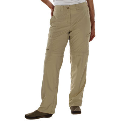 The ExOfficio Ziwa Convertible Pants repel insects, dry quickly, and are engineered for comfort with notched out, easy access pockets that are mesh-lined and quick-drying. Petite inseam: 29 in. - $100.00