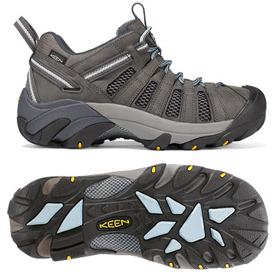 Camp and Hike Highly ventilated with mesh panels, the Keen Voyageur is ideal for hot summer day hikes. Great traction and stability. - $69.98