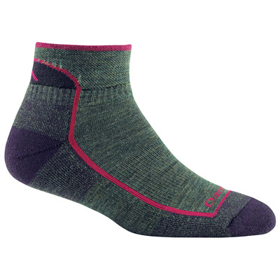 For miles of comfort and Darn Tough durability on the trail, these merino wool 1/4 socks feature high-density terry-loop padding on the foot bottom for an unrivaled level of cushioning performance. - $17.00