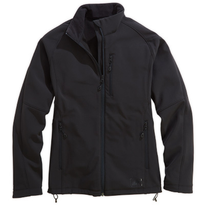 A highly wind and water resistant soft shell with a bonded fleece interior for additional warmth. - $37.48