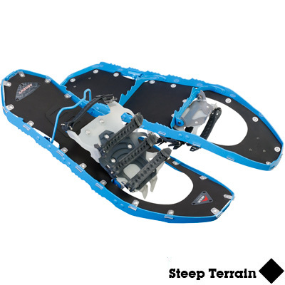 The MSR Lightning Ascent Snowshoes represent the most aggressive snowshoes offering the pinnacle of lightweight all-terrain performance. - $179.98
