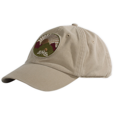 Cotton comfort and the irresistible appeal of mountains are combined in our Logo Twill Cap. - $15.00