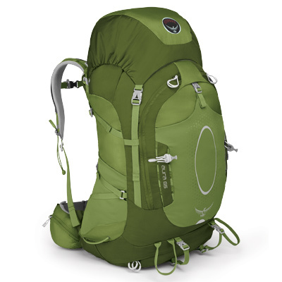 Camp and Hike The Osprey Aura 65 L defines the lightweight hiking pack with a custom ventilated fit that lets you tick away the trail miles in comfort. Redesigned for 2012 with a radically updated AirSpeed suspension systems, new fabrics and a lighter trail weight. - $174.96