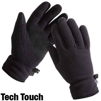 All-purpose midweight fleece gloves keep you warm through the winter. - $12.98