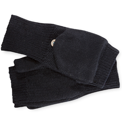 Wear Pistil's Tizzy Mittens when you need to use your fingers-just flip the finger compartment open to enable dexterity when you need it, and flip it back to keep your digits warm. - $16.98
