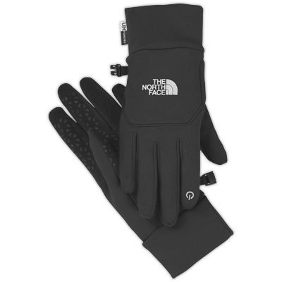 Treat yourself to a pair of The North Face Etip Gloves for five-finger touchscreen operation. Stretch fleece provides lightweight warmth when there's a chill in the air. - $45.00