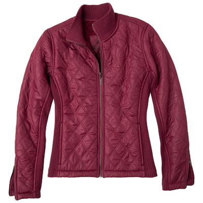 Welcome cool autumn mornings with the Diva Jacket from prAna. A Sherpa lining traps your warmth, while rib panels and quilting add appealing style. - $83.23