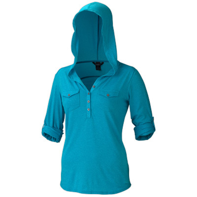 Surf an easy-going look in Marmot's Laura. The Henley front-button style, roll-up sleeve feature, and double chest pockets add a dash of modern flair. - $49.98