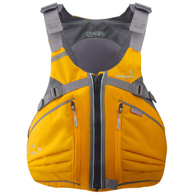 Designed for the female sea kayaker and sit-on-top paddler, Stohlquist's Cruiser is shaped for women, with a smaller cut, shortened torso, and supportive inner cups. - $109.95