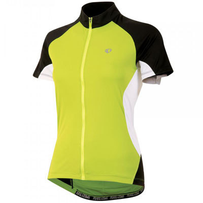 For superior comfort and a soft next-to-skin feel, the Pearl Izumi Women's Symphony Bike Jersey is the perfect sleek, simple, and attractive choice. - $44.98