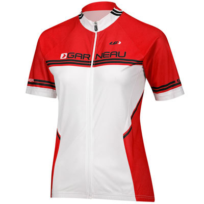 For a pro cyclist look-without the pro cyclist price tag-the Louis Garneau Women's Equipe Bike Jersey has your back. - $34.98