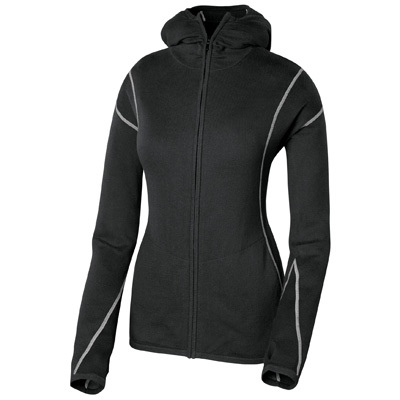 Be radiant with Isis. The Lena flatters with a relaxed, inviting style that features contrast stitching, rouched details, and a cozy hood. - $52.48