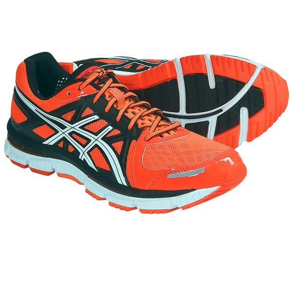 Fitness CLOSEOUTS . Conquer the track or the matrix of the streets of your neighborhood in the high performance of Asics' GEL-Neo33 running shoes. These lightweight shoes provide mild stability, a wider, less-restrictive toe box and full-length GELand#174; cushioning. Available Colors: BRIGHT ORANGE/BLACK/WHITE, ROYAL/LIMEADE/WHITE, TITANIUM/BLACK/LIME, PLATINUM/BLACK/YELLOW. Sizes: 7, 7.5, 8, 8.5, 9, 9.5, 10, 10.5, 11, 11.5, 12, 12.5, 13, 14. - $79.95