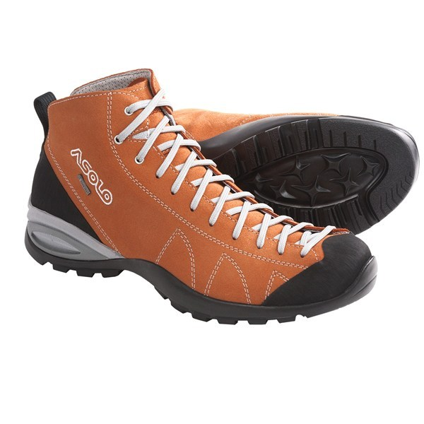 Camp and Hike CLOSEOUTS . Avoid prickly situations on and off the trail thanks to the rugged, water-resistant suede upper and waterproof breathable Gore-Texand#174; membrane of Asolo's Cactus hiking boots. Available Colors: GREY, CROCODILE, CARROT, WOOL, ELEPHANT. Sizes: 8, 8.5, 9, 9.5, 10, 10.5, 11, 11.5, 12, 13, 14, 7, 7.5. - $129.95