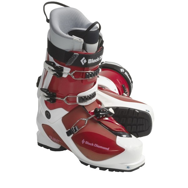 Ski CLOSEOUTS . A lightweight touring specialist that skis like its beefier brethren, Black Diamond Equipment Slant AT ski boots have two cuff buckles for support and unmatched range of motion in walk mode. Available Colors: FORMULA ONE. Sizes: 25, 25.5, 26, 26.5, 27, 27.5, 28, 28.5, 29, 29.5, 30, 30.5. - $131.84