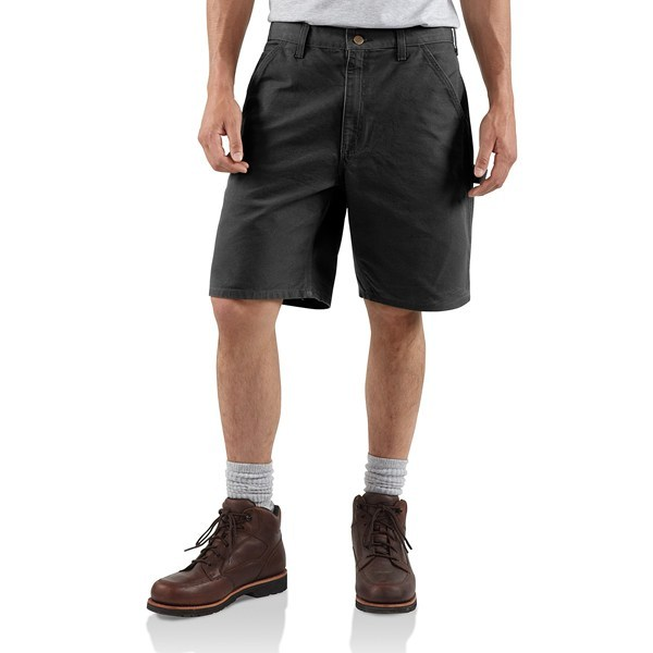 Hunting 2NDS,  barely perceptible blemishes. Carhartt's washed duck work shorts know work doesn't ease up much in summer, and neither does wear and tear on your clothes. That's why these durable shorts are made of tough 12 oz. cotton. Available Colors: GREY, 41, NAVY, TIMBER, DESERT, MOSS, CARHARTT BROWN, BLACK, LIGHT BROWN, 42, NATURAL, MDBLU, INDIGO, 32, WHEAT, DARK BROWN, 14. - $24.95