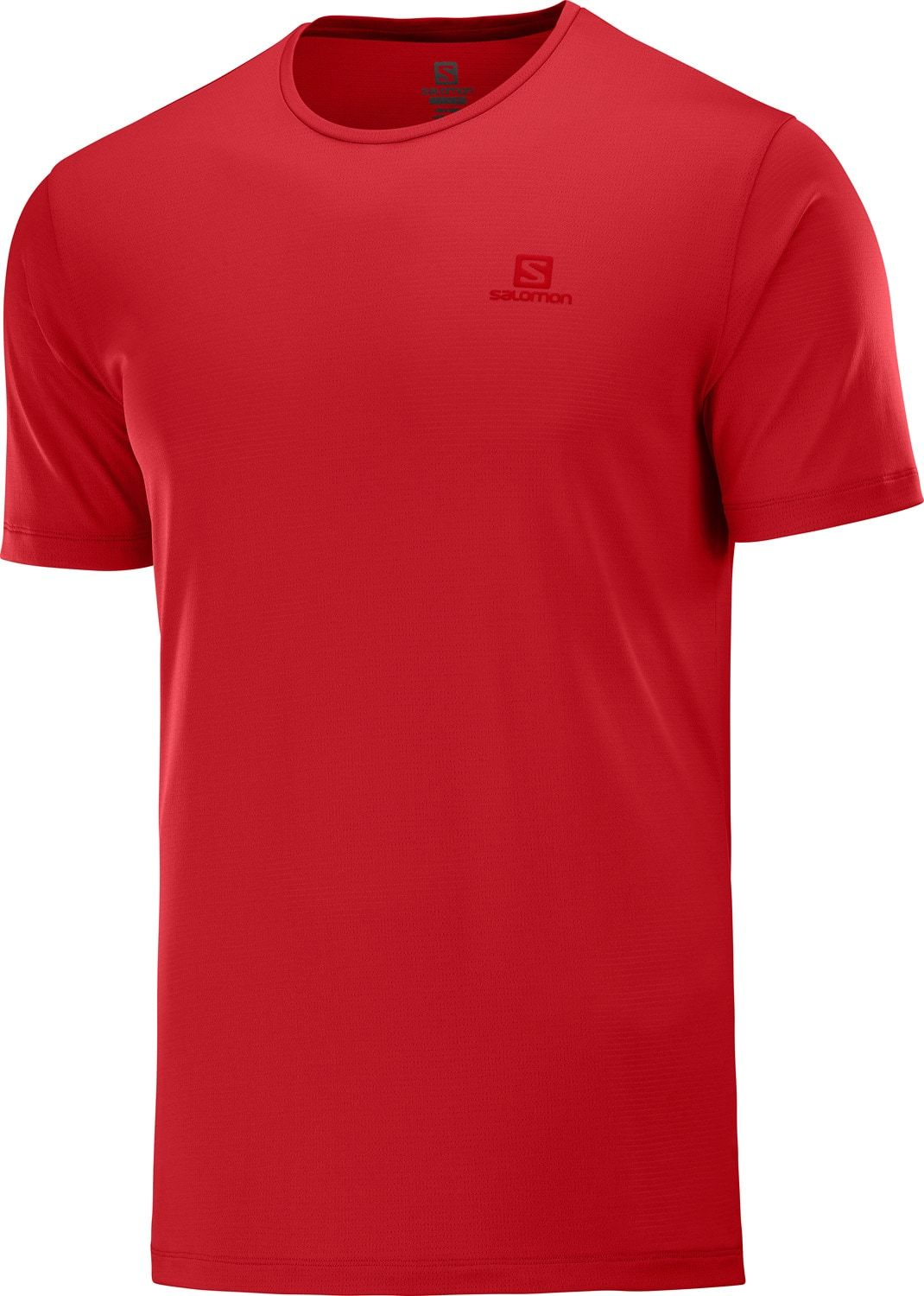 The lightweight AGILE TRAINING TEE focuses on comfort and breathability - even in those tough uphill climbs - with soft, quick-drying fabric. It feels good over long distances, so you can really push yourself while you run, hike or bike. Body: 59% Polyamide, 41% Polyester  AdvancedSkin ActiveDry  Mechanical Stretch  Weight (grams): 77 - $26.95