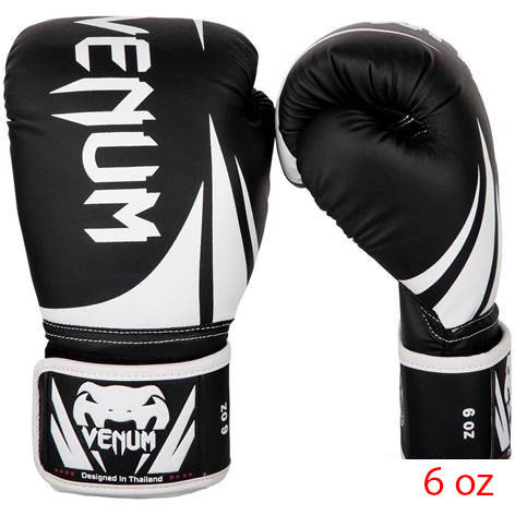Sports Venum Challenger 2.0 Kids Boxing Gloves Black/White