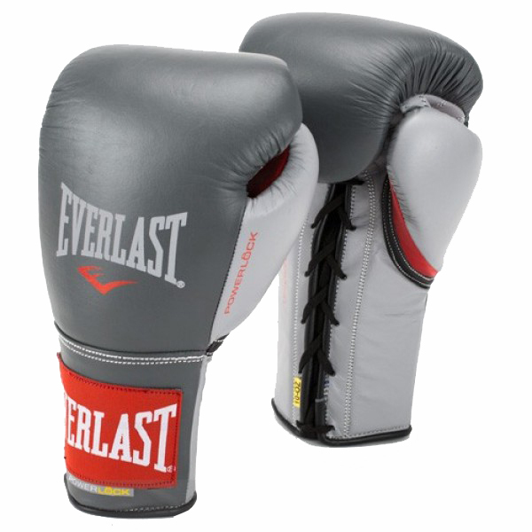 Sports Everlast Powerlock Pro Fight Boxing Gloves