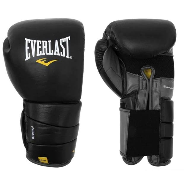 Sports Everlast Leather Pro 3 Boxing Gloves