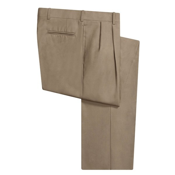 CLOSEOUTS . Handcrafted of smooth, lightweight wool, Corbin's dress pants deliver a handsome style with a well-tailored appearance. Available Colors: BLUE, OLIVE, DK TAUPE, LT OLIVE, DARK SAGE, MED GREY, CHARCOAL, CAMEL, OLIVE, NAVY, BLACK. - $28.95