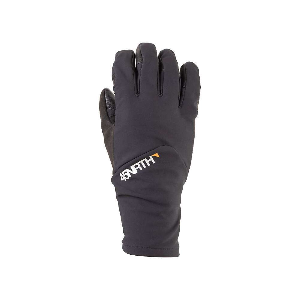 Features of the 45NRTH Sturmfist 5 Finger Glove Water/wind resistant shell on back of hand Water resistant leather on palm 100g Polartec alpha Insulation Merino blend lining for dry hands and warmth - $85.00