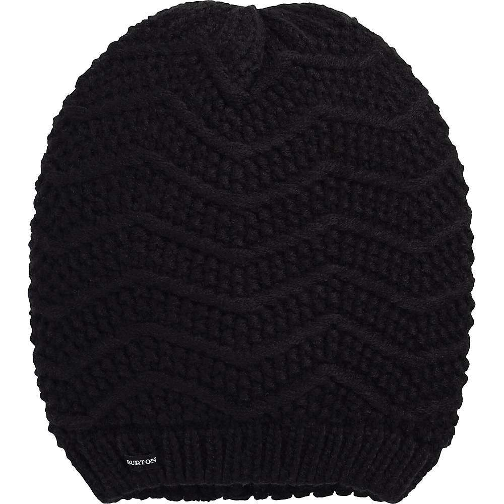 Features of the Burton Women's Pearl Knit Beanie Exaggerated slouch Fit can be pulled down over the ears Stylish purl knit One size Fits all One size Fits all - $26.95