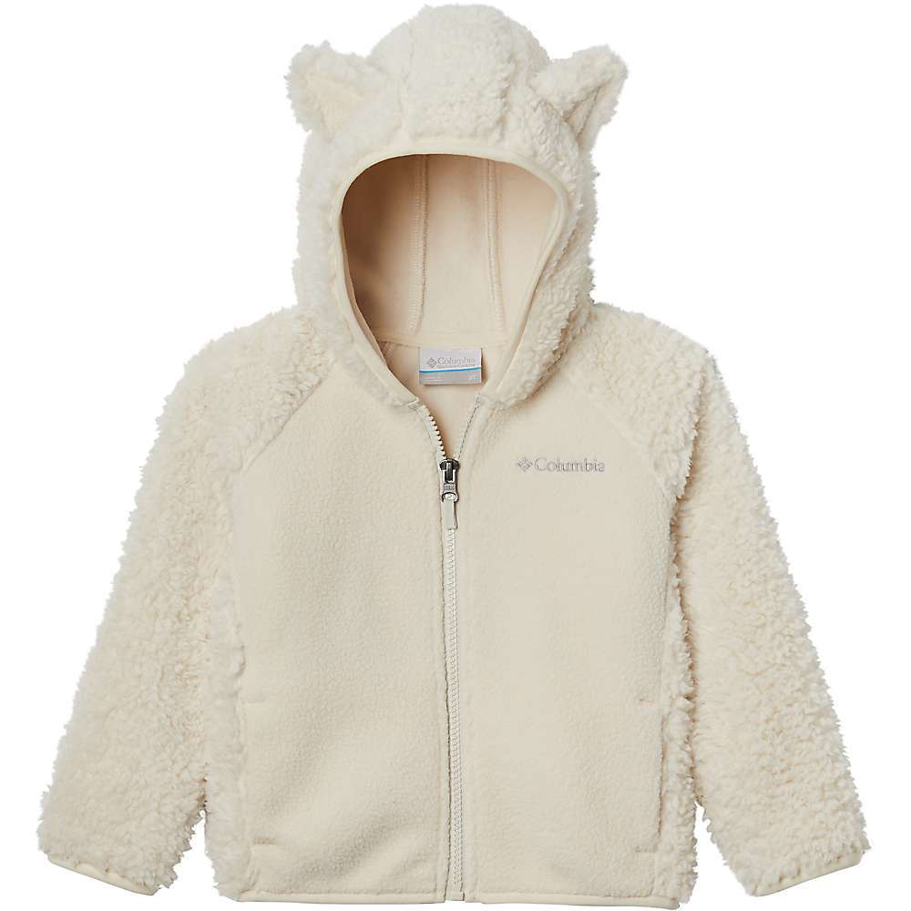 Features of the Columbia Infant Foxy BabySherpa Full Zip Hoodie Binding at hood, cuff, and hem Fleece lined pockets Animal ears at hood Fabric Details 100% Polyester sherpa pile face microfleece back - $34.99