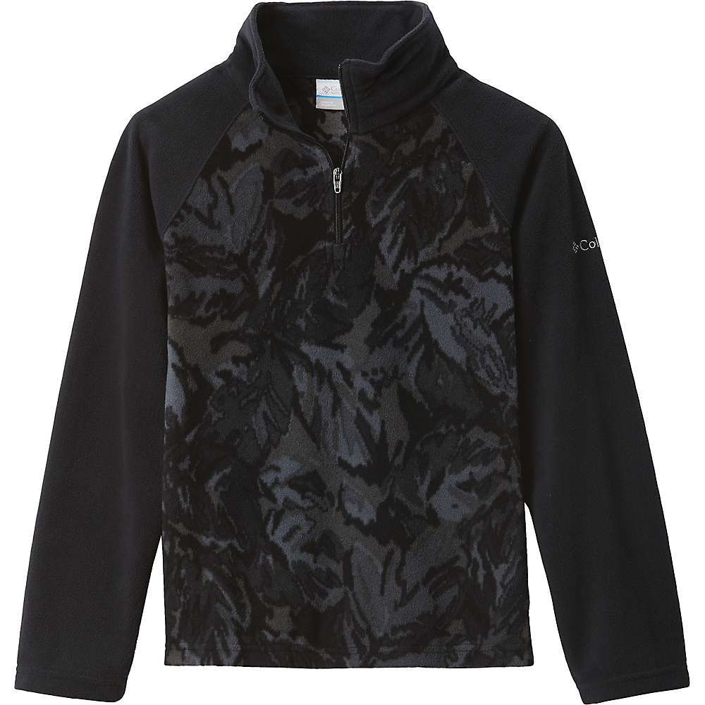 Features of the Columbia Girls' Glacial II Fleece Printed Half Zip Top 100% Polyester - $24.99