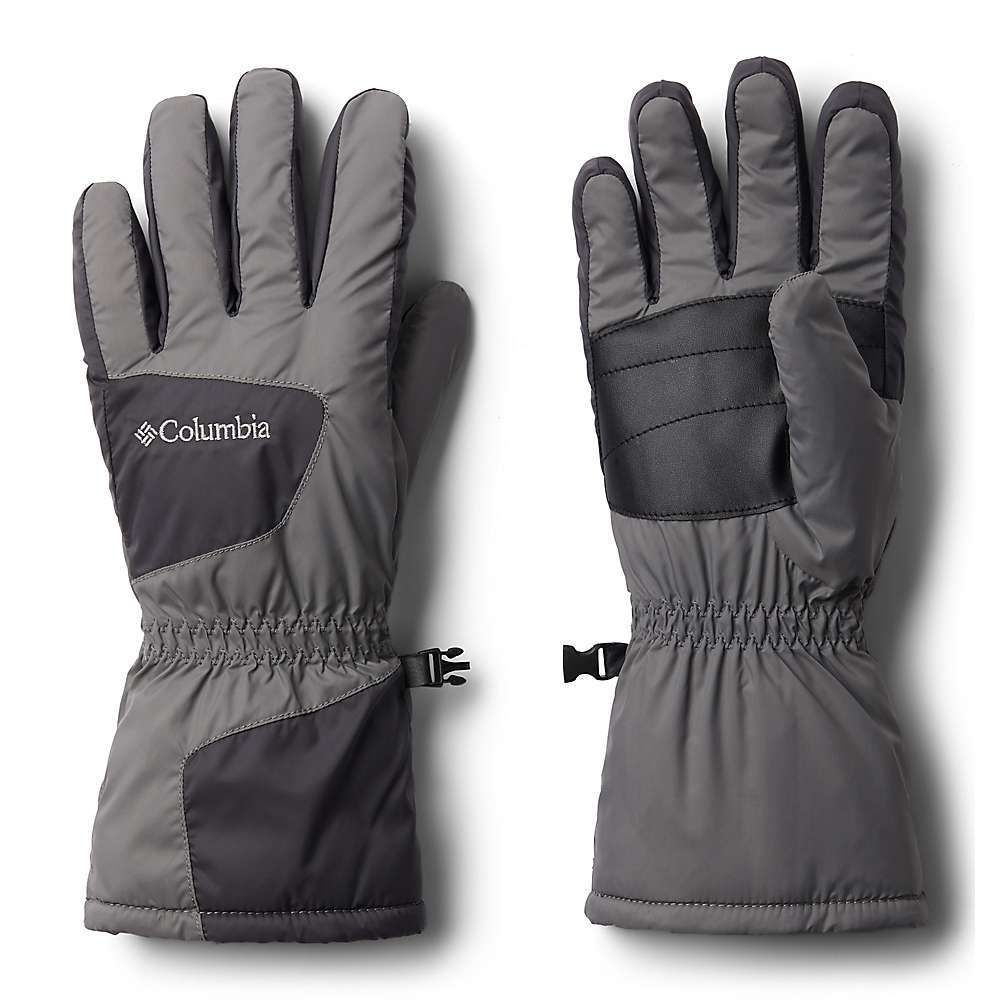 Features of the Columbia Six Rivers Glove Omni-HEAT thermal reflective Omni-SHIELD advanced repellency Waterproof bladder Elastic at wrist Fabric Details Shell: Hydroplus 100% Nylon Palm: 80% Polyester, 20% Polyurethane Insulation(All Over): 100% Polyester 150g - $34.94