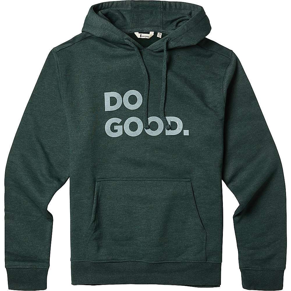Features of the Cotopaxi Women's Do Good Hoodie Ultrasoft cotton blend Athletic cut Ribbed cuffs Fabric Details 60% Organic cotton, 40% Recycled polyester - $65.00