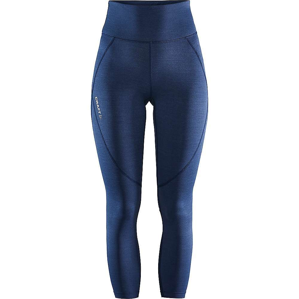 Features of the Craft Women's ADV Essence High Waist Tight Very-good-Fitting tights in comfortable polyamide and elastane jearsey with great Fit and excellent pullback Small key pocket inside waistband Mesh details at back leg Craft logo at front Six dots logo at back Fabric Details 72% Polyamide-recycled, 28% Elastane - $89.95
