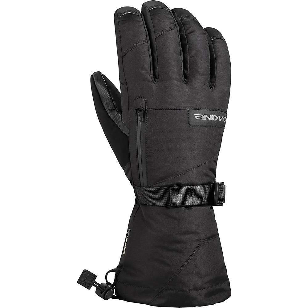 Features of the Dakine Men's Titan Glove External waterproof zippered stash pocket/heat pack pocket Nose wipe thumb panel Removable wrist leash - $55.99