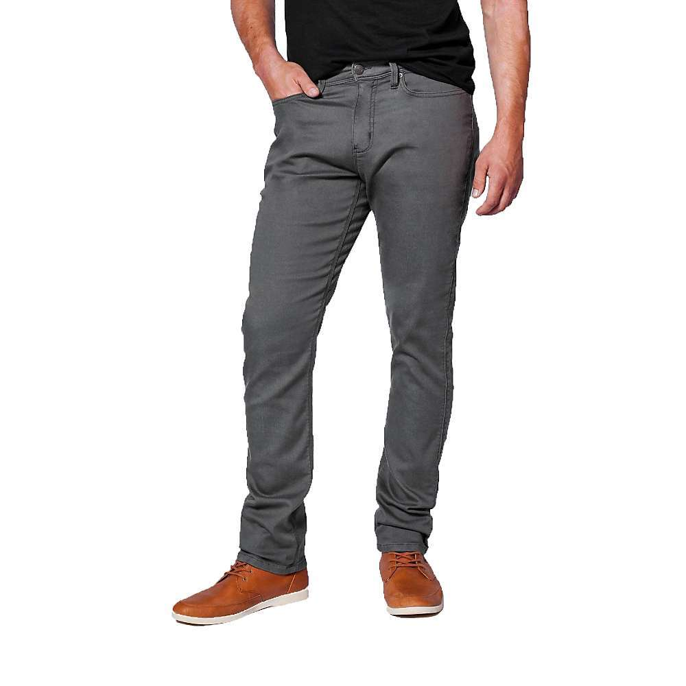 The DU/ER Men's No Sweat Relaxed Fit Pant is a power stretch pant for all day comfort in every adventure. The relaxed Fit offers room for your tHighs and calves without restriction and a fabric blend of cotton, TENCEL Lyocell, COOLMAX polyester and Lycra spandex drives the comfort. They have the ability to regulate temperature, keeping you cool when it's warm out and warm when it's cold. Any day of the week. Features of the DU/ER Men's No Sweat Relaxed Fit Pant Designed with extra room in the hip and tHigh, the Relaxed Fit sits 2-3in. below the natural waist, skims the body and has a slight taper to the hem Signature invisible DUER seat gusset offers a greater range of motion while preventing crotch blow outs Moisture wicking pocket bags for extra comfort in every situation Invisible, YKK zippered mesh-lined vents for increased coolness in all climates - $128.95