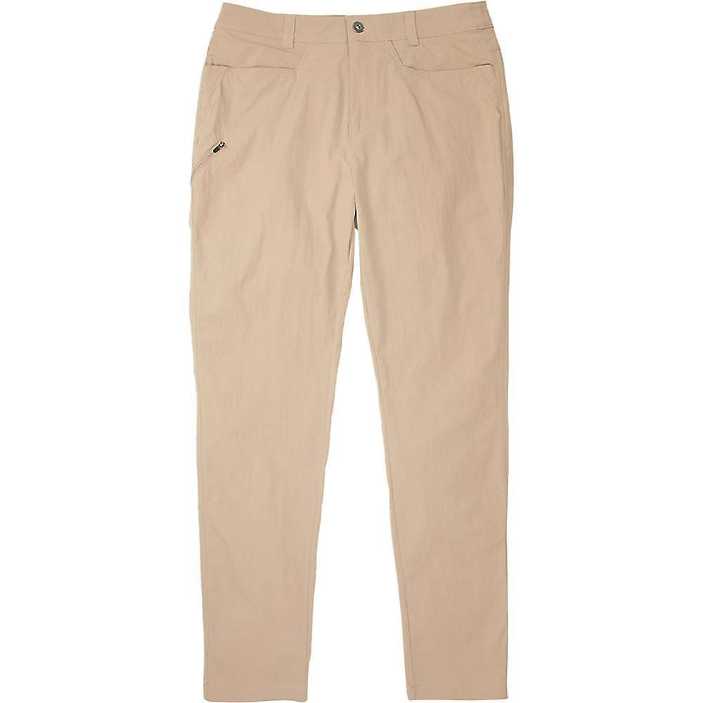 Features of the ExOfficio Men's BugsAway Sidewinder Pant BugsAway insect-repelling fabric wards off ticks, mosquitoes and midges Lightweight stretch-nylon is abrasion-resistant and durable Sun protection with an ultraviolet protection factor (UPF) of 30 Zippered pocket on left tHigh Two back patch pockets with flat and snap closure Fixed waistband Bluesign approved fabric reduces the negative environmental impact of textile production Fabric Details 97% Nylon, 3% Elastane, Plain Weave - $93.95