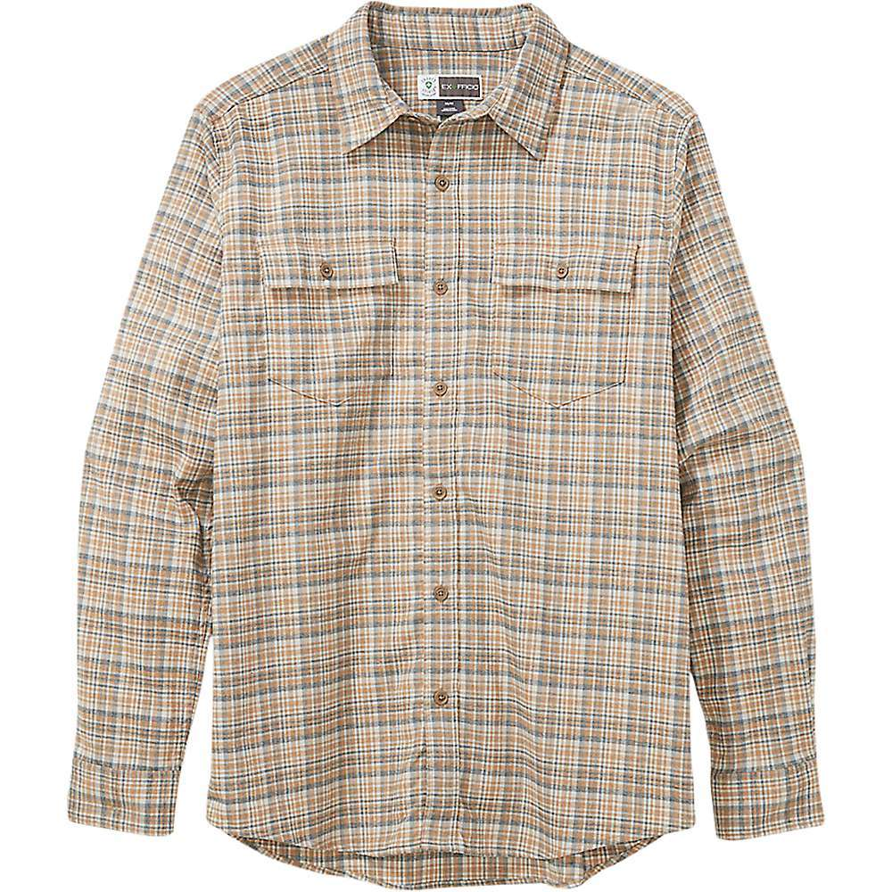 Features of the EXOFFICIO MEN'S BUGSAWAY KEMPSEY LIGHTWEIGHT UPF 50 LONG-SLEEVE FLANNEL SHIRT BugsAwayA(R) insect-repellent clothing provides protection from mosquitoes, ticks, fleas, and other bugs; odorless, invisible built-in treatment lasts up to 70 washes Lightweight, moisture-wicking, and quick-drying Performance fabric Sun protection clothing with an ultraviolet protection factor (UPF) of 50 Flatlock seam construction for chafe-free comfort; offset shoulder seams won't chafe under backpack or shoulder straps Double chest pockets Fabric Details 100% Polyester - $89.95