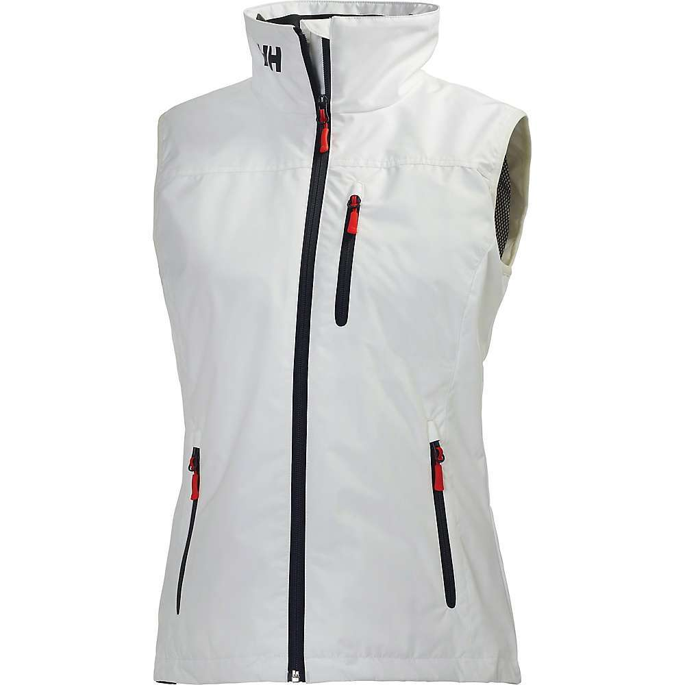 Features of the Helly Hansen Women's Crew Vest HellyTech protection Waterproof, windproof and breathable Adjustable bottom hem One hand bottom hem adjustment Polartec fleece lined comfortable collar Fully waterproof, windproof and breathable fabrics and constructions For all situations and weather conditions where protection from the elements is needed Fabric Details Face: 100% Polyester Back: 100% Polyurethane - $124.95