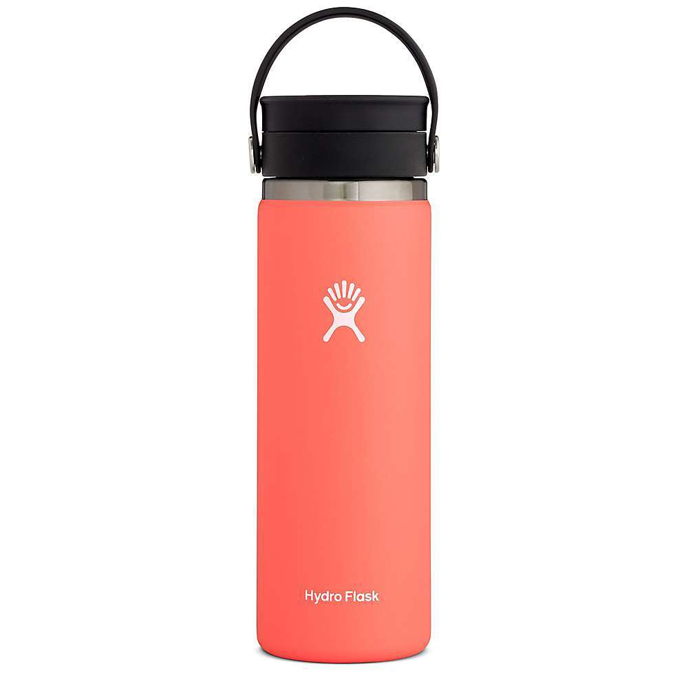 Features of the Hydro Flask 20oz Wide Mouth Flex Sip TempShield double wall vacuum Insulation Stays cold up to 24 hours Stays hot up to 12 hours 18/8 Pro-grade stainless steel BPA and phthalate-free for ultimate purity Proprietary powder coat Flex strap Leak-proof lid Compatible with all wide mouth accessories Lifetime Warranty - $34.95