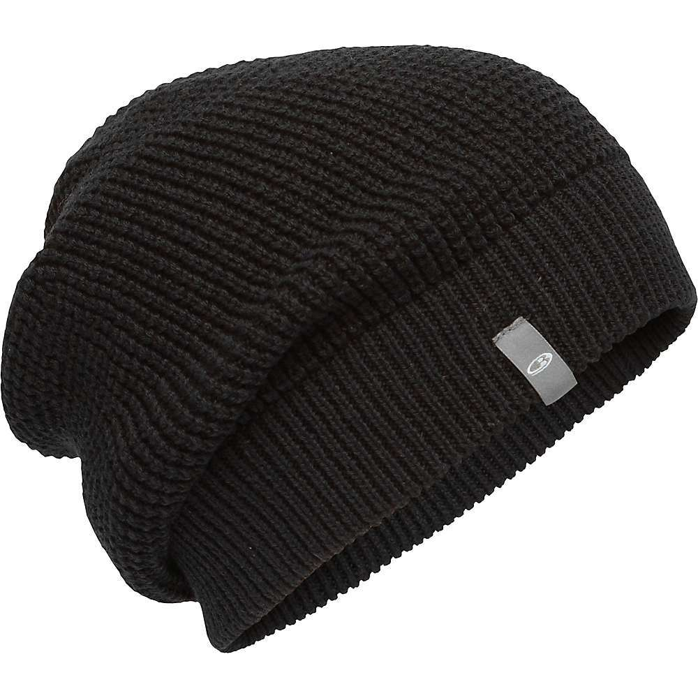 The Icebreaker Feadan Slouch Beanie is a winter hat for cold times. Chilly weather means you better cover up your head, even if it smushes your hair a bit. The slouchy look makes up for any style points lost, plus a textured knit and ribbed edge kick it up another notch. A warm head is better, trust me. Features of the Icebreaker Feadan Slouch Beanie Fully fashioned lifestyle beanie Ribbed hem Icebreaker hem wrap label Fabric Details 57% Merino, 43% Organic Cotton - $49.95