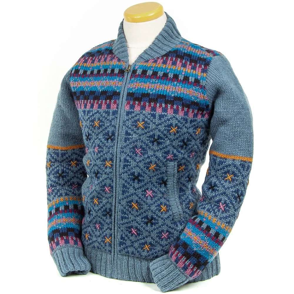 Features of the Laundromat Women's Hope Sweater Quilted polyester lining Fair Trade Hand-stitched embroidery Fabric Details: 100% Wool - $189.95