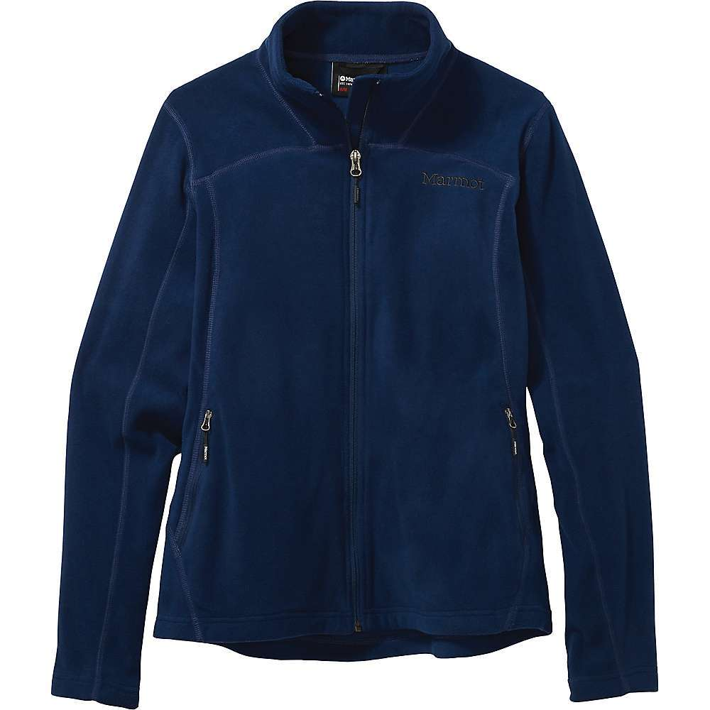 Features of the Marmot Women's Flashpoint Jacket Polartec Classic 100 Micro Flatlock construction Zippered handwarmer pockets Fabric Details Polartec Classic Micro 100% Polyester Lux Velour Fleece - $104.95