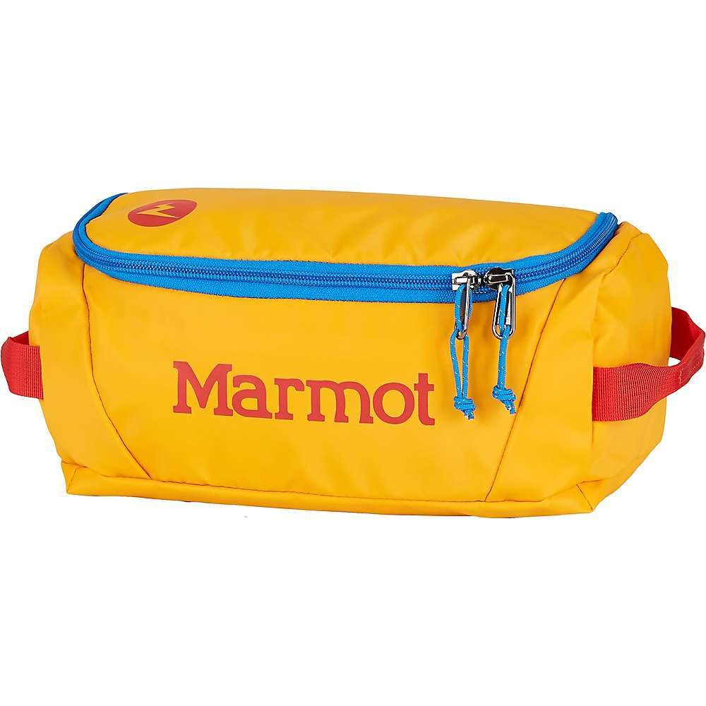 Features of the Marmot Mini Hauler Gear Bag Multiple interior pockets including mesh PU zippered pocket under lid D-shaped zip for easy access Durable 300D TPE laminate (Phthalate-Free) and 1680D ballistic nylon Easy-carry handles YKK zippers Fabric Details 300d Laminate 100% Polyester (Phthalate-Free) - $34.95