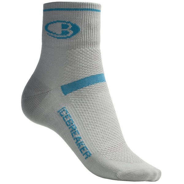 2NDS . Engineered to perform, Icebreaker's GT multisport superlite micro socks are made of moisture-wicking merino wool with durable four-way stretch. They also feature a multisport construction that prevents blisters and facilitates air circulation for serious comfort. Available Colors: WHITE, SILVER, CRANBERRY. Sizes: S, M, L. - $8.07