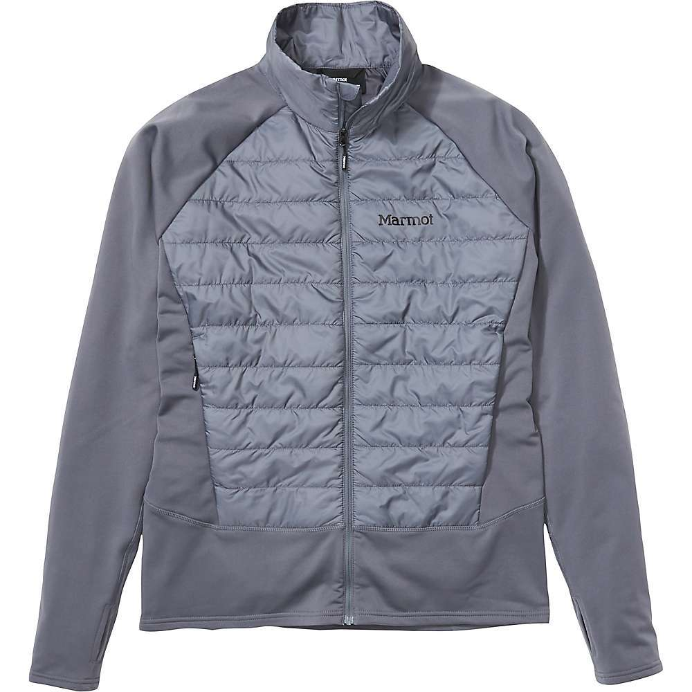 Features of the Marmot Men's Variant Hybrid Jacket Pertex Quantum fabric is designed to protect from wind and improve the efficiency of Insulation PrimaLoft Black Insulation ECO is lightweight and breathable, offering warmth and wind resistance Thumbholes for added hand coverage and warmth Fabric Details Pertex Quantum 100% Recycled Polyester Mini Ripstop - $187.95