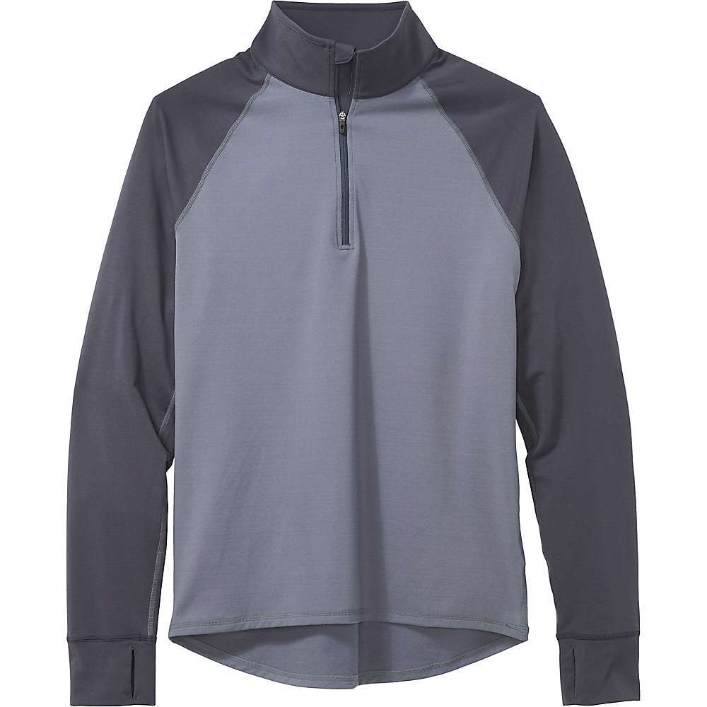 Features of the Marmot Men's Baselayer 1/2 Zip Top Lightweight recycled fabric that is quick drying and moisture wicking Antimicrobial treatment reduces odor in fabric Flatlock seam construction allows chafe-free comfort Tag-free neckline Thumbholes for added hand coverage and warmth Fabric Details 90% Recycled Polyester, 10% Elastane - $71.95
