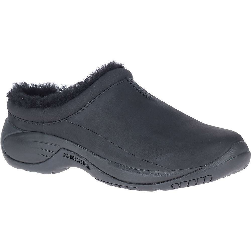 Features of the Merrell Men's Encore Chill 2 Shoe Leather Upper Shearling lining Removable COMFORTBASE Footbed for shock absorption and cushion Merrell Air Cushion in the heel absorbs shock and adds stability EVA foam midsote for stability and comfort Rubber Outsole for reliable traction - $119.95