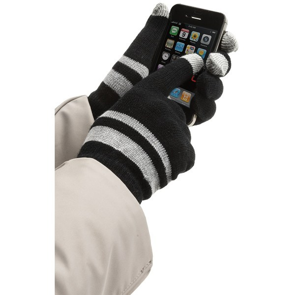 CLOSEOUTS . No need for the words abracadabra or hocus-pocus, Jacob Ash Weather Beaters's Magic gloves perform their magic with six points of Pro-Text Touch Sensitive Technology, putting the power of touch-screen devices at your cozy finger tips. Available Colors: BLACK, GREY, RED, WHITE, BLACK GRIPPER DOT, GREY GRIPPER DOT, RED GRIPPER DOT, WHITE GRIPPER DOT, BLACK W/GREY STRIPE, GREY STRIPE, RED STRIPE, BLACK W/WHITE STRIPE, ANTHRACITE, MEDIUM HEATHER GREY, OCEAN, FUCHSIA. Sizes: O/S. - $3.95